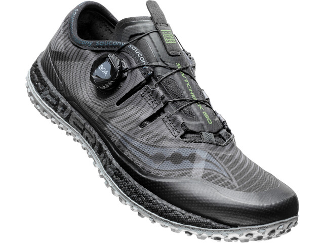saucony Switchback ISO Shoes Herre black/grey